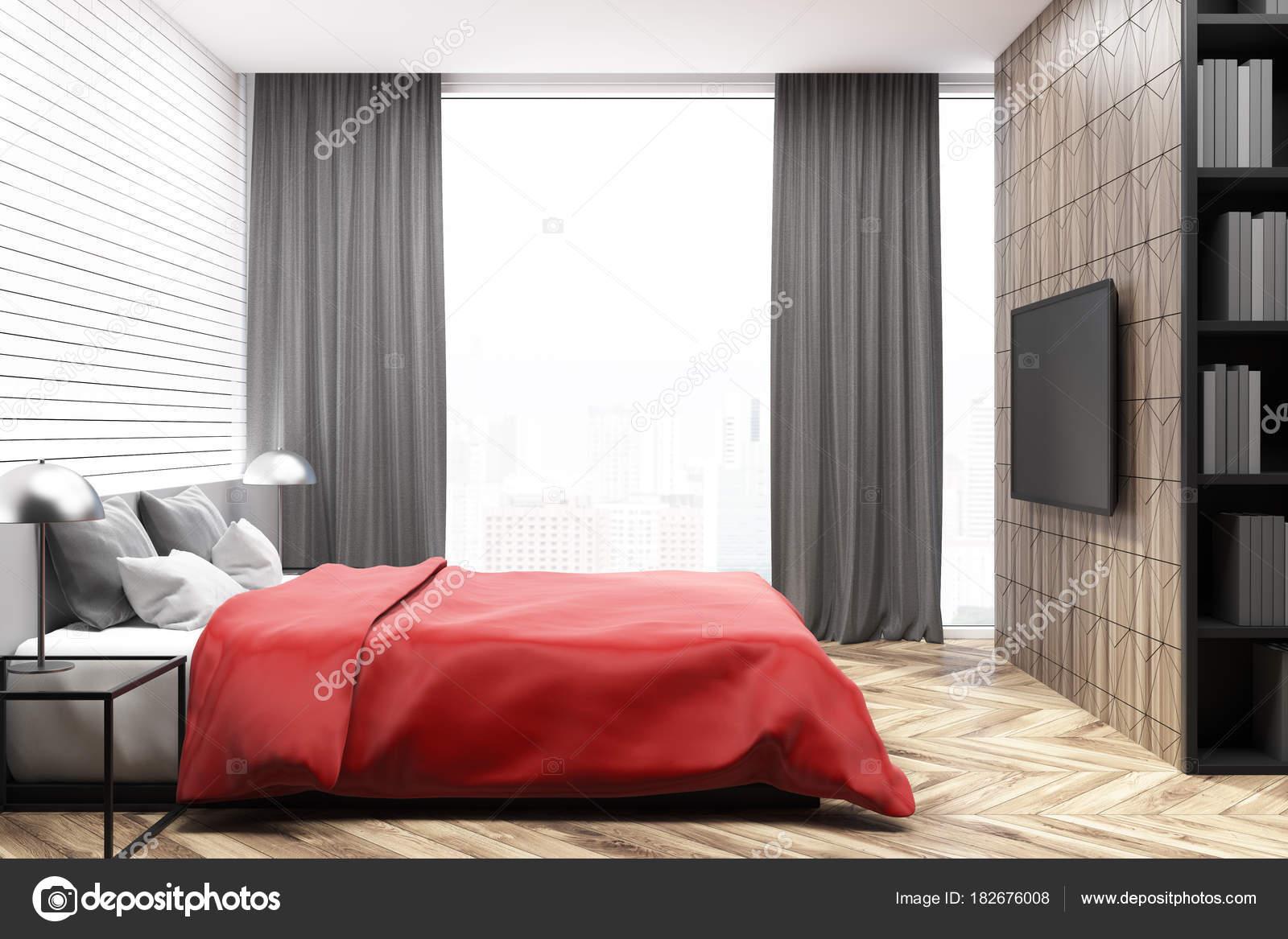 https://st3.depositphotos.com/2673929/18267/i/1600/depositphotos_182676008-stock-photo-white-bedroom-interior-red-bed.jpg
