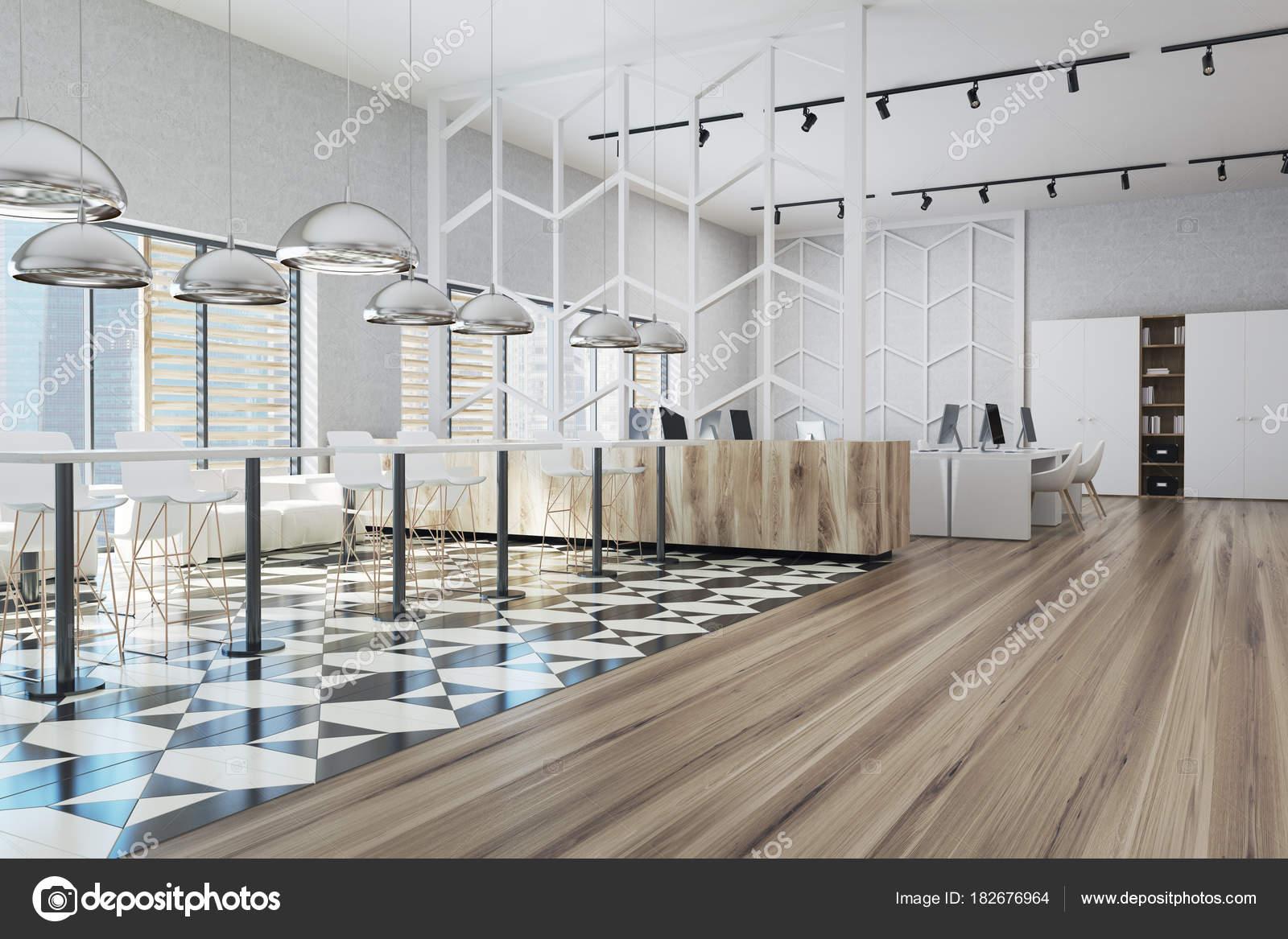 Angolo ufficio sala da pranzo zona u foto stock denisismagilov