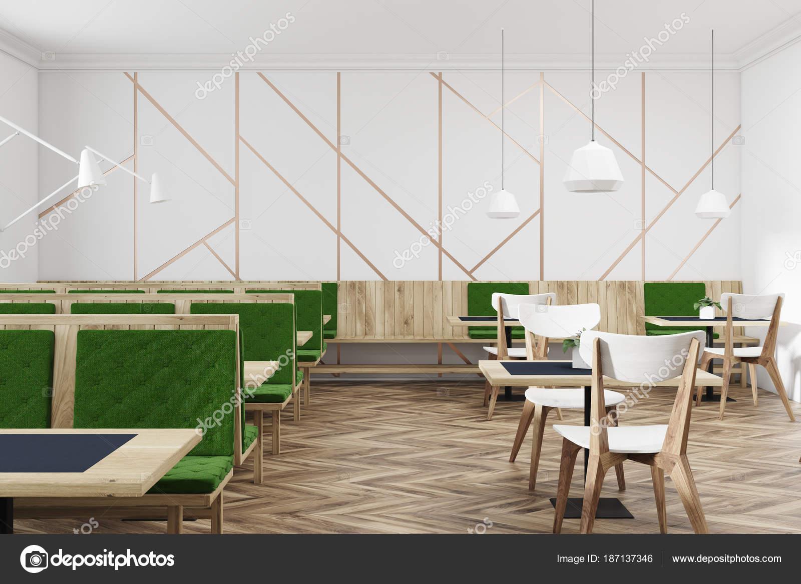 white and green cafe interior stock photo denisismagilov 187137346 rh depositphotos com