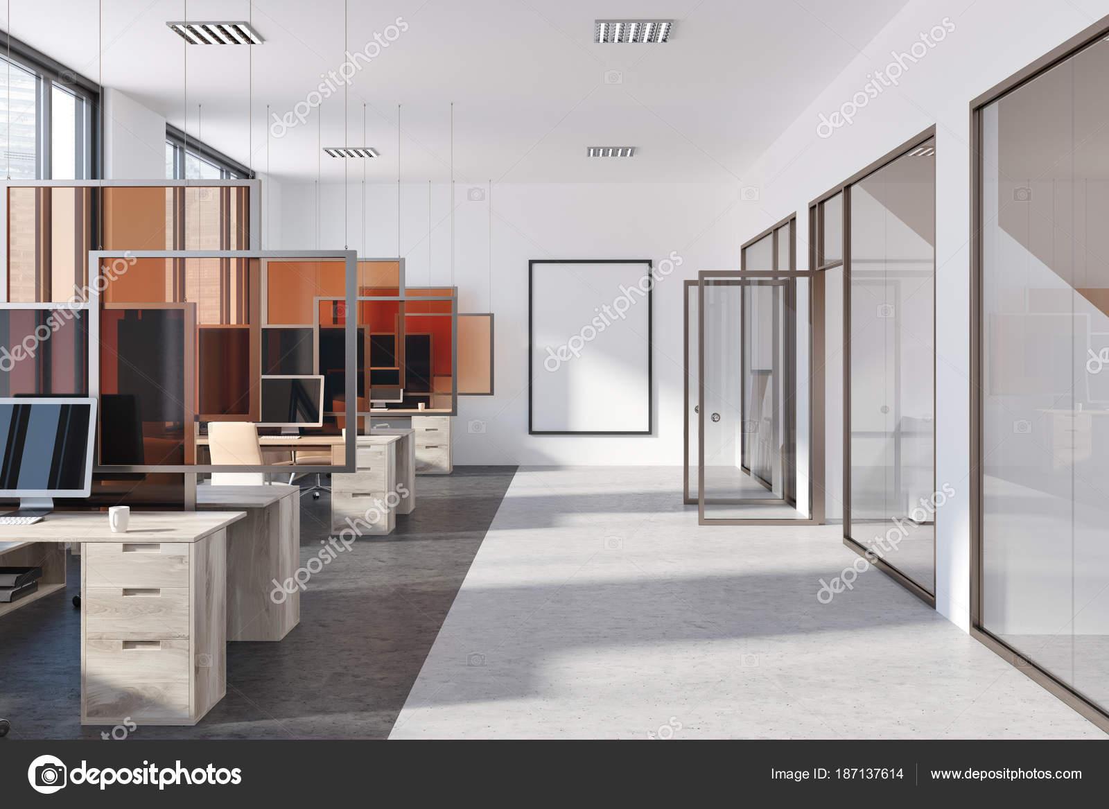Bureau moderne poster portes en verre u photographie