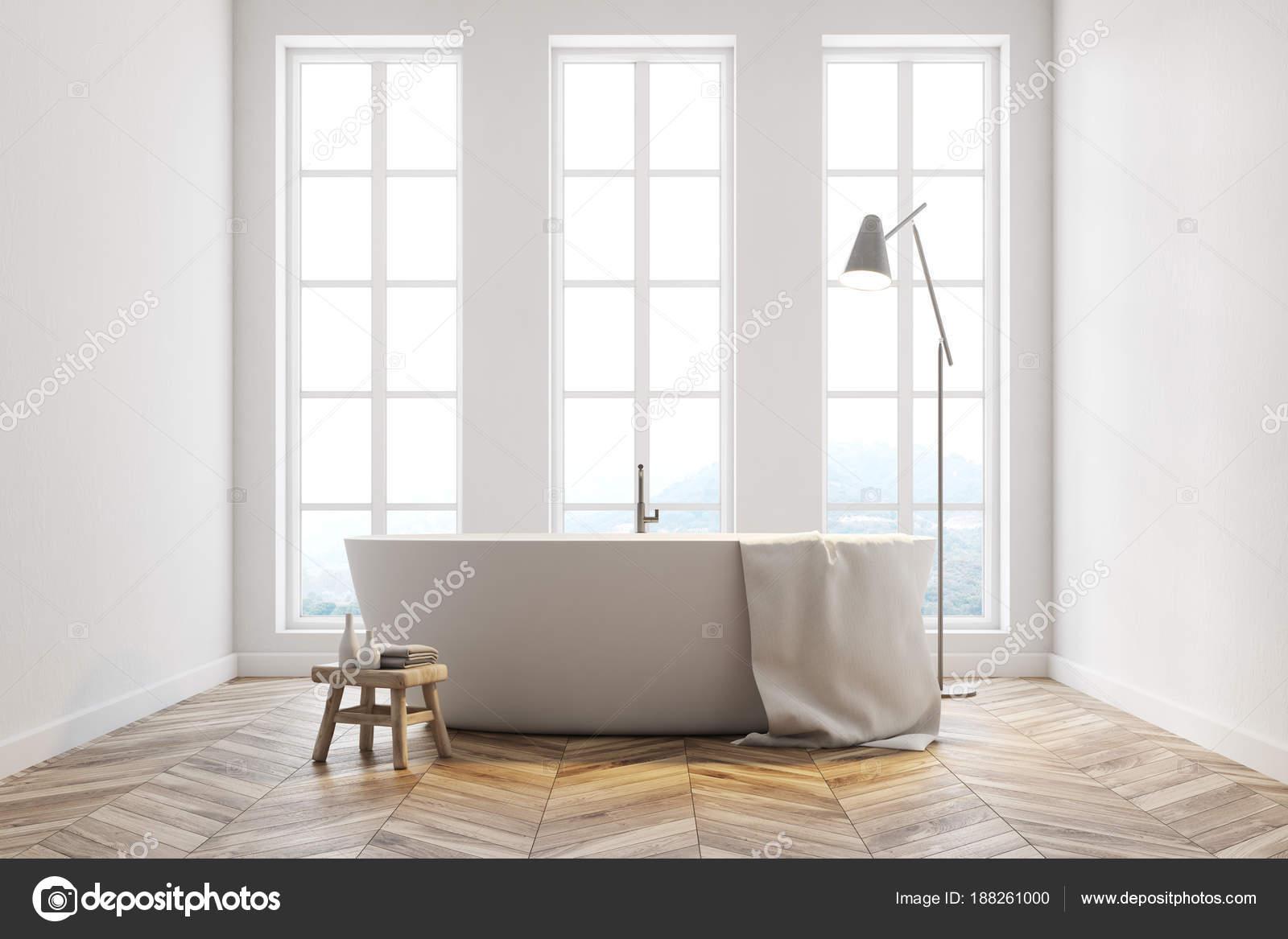 Minimalistische witte badkamer u2014 stockfoto © denisismagilov #188261000