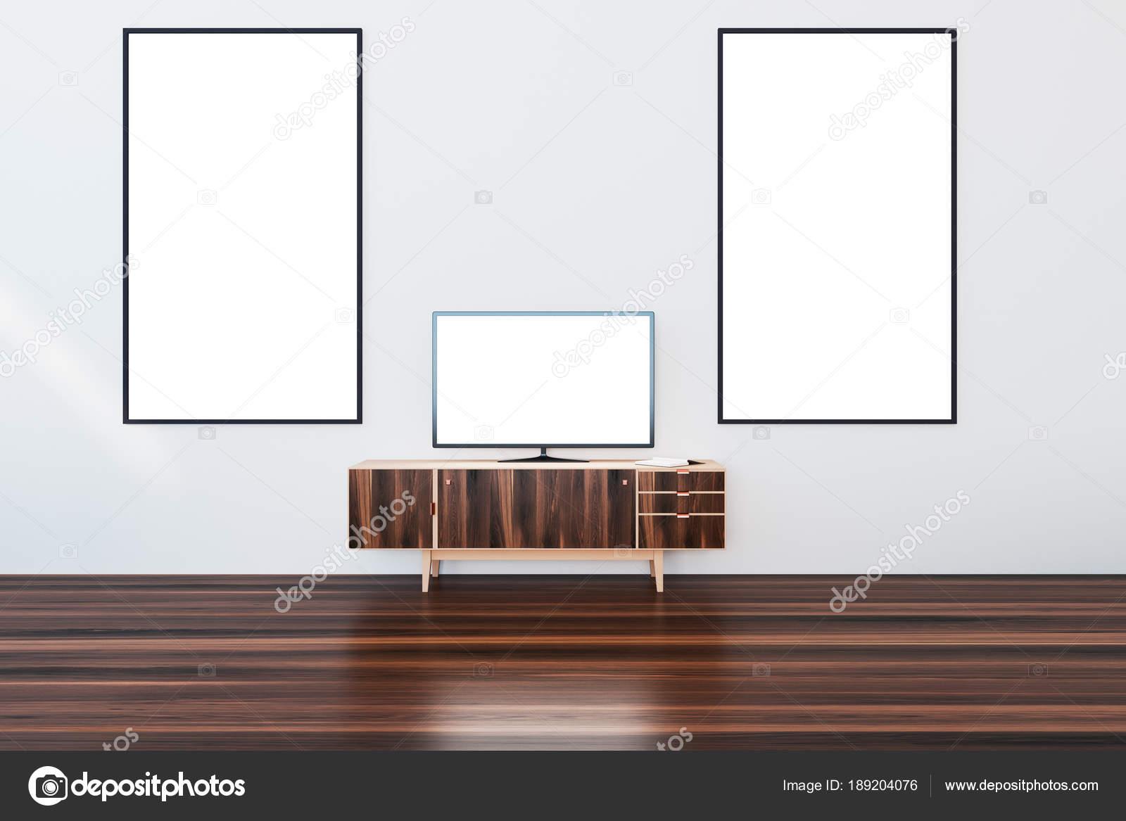 Witte Kast Woonkamer : Witte houten kast woonkamer posters u stockfoto denisismagilov