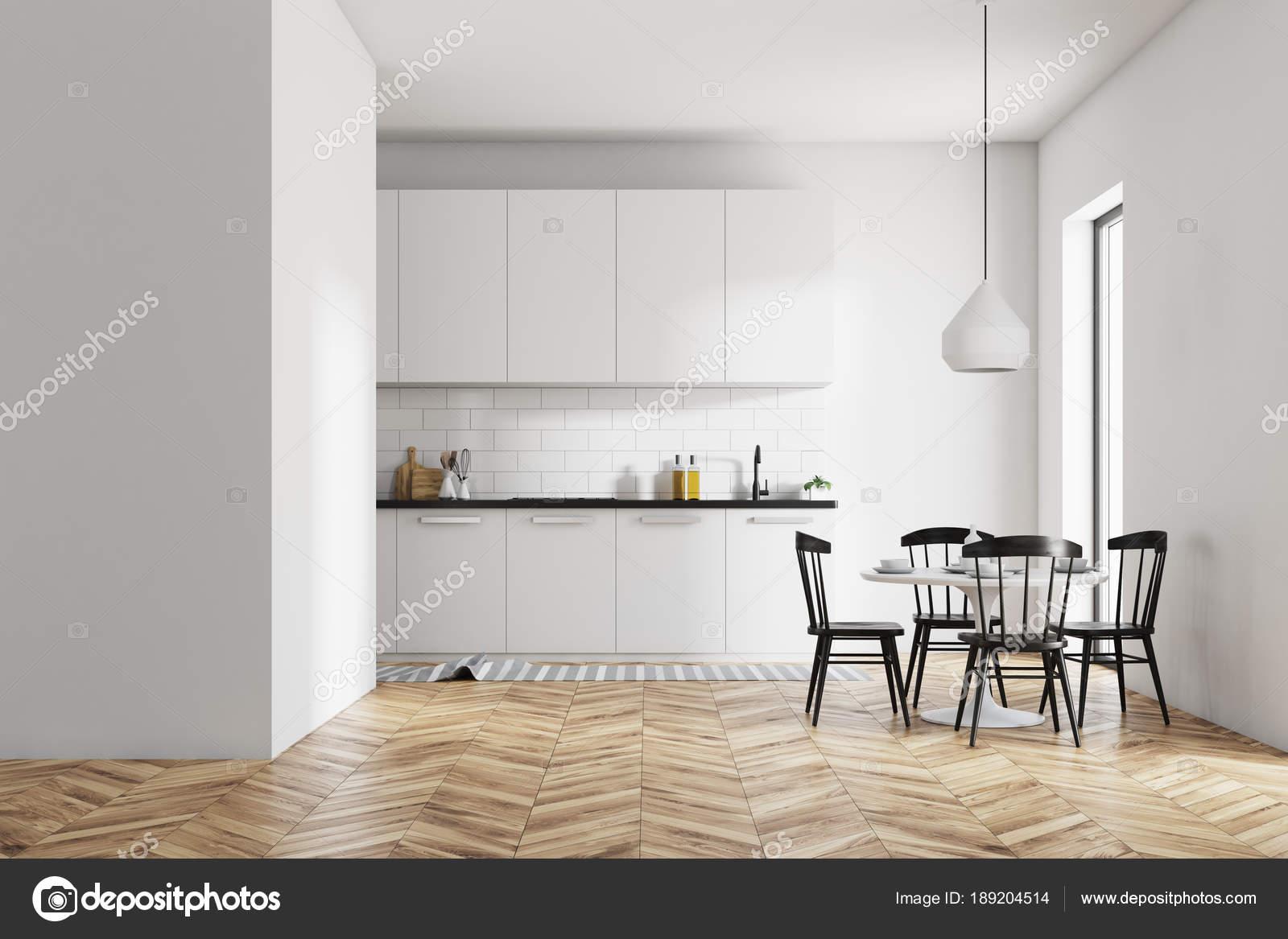 Witte Eetkamer Stoel : Witte eetkamer en keuken muur u2014 stockfoto © denisismagilov #189204514