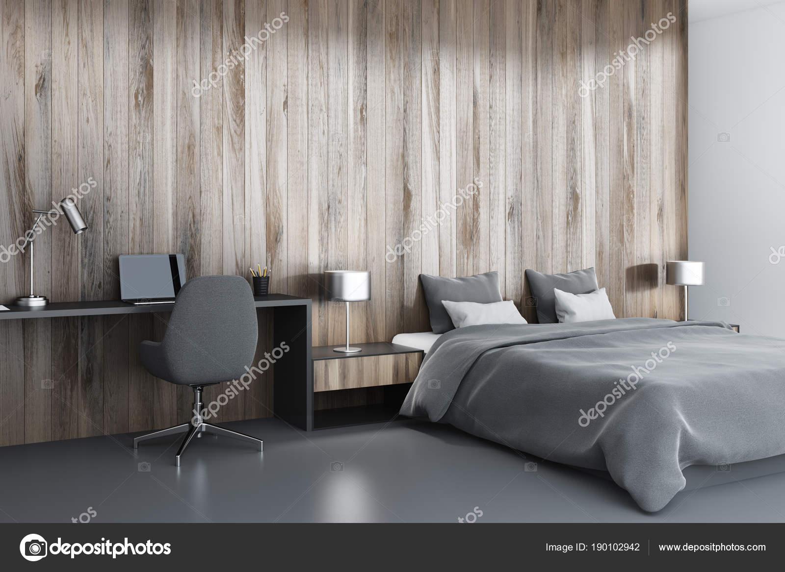 Angolo camera da letto in legno, scrivania per computer ...