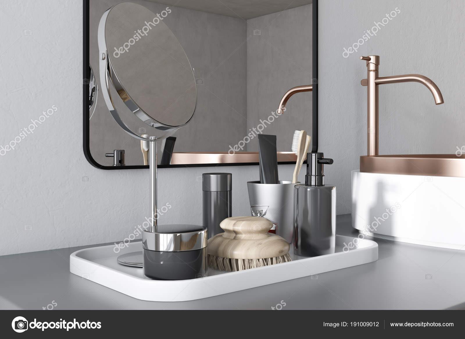 Witte badkamer wastafel bocht u2014 stockfoto © denisismagilov #191009012