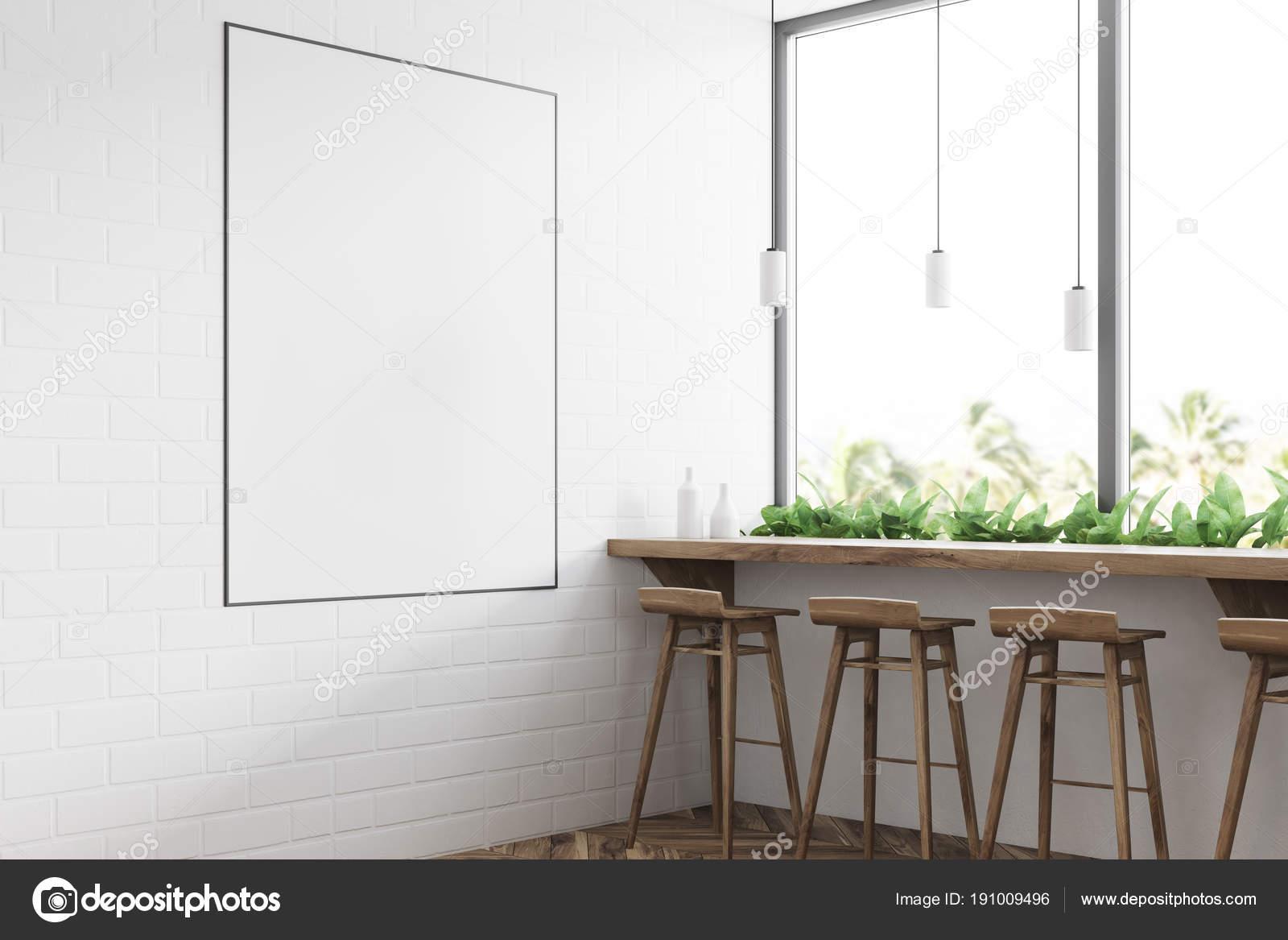 Bianco moderno angolo bar poster u2014 foto stock © denisismagilov