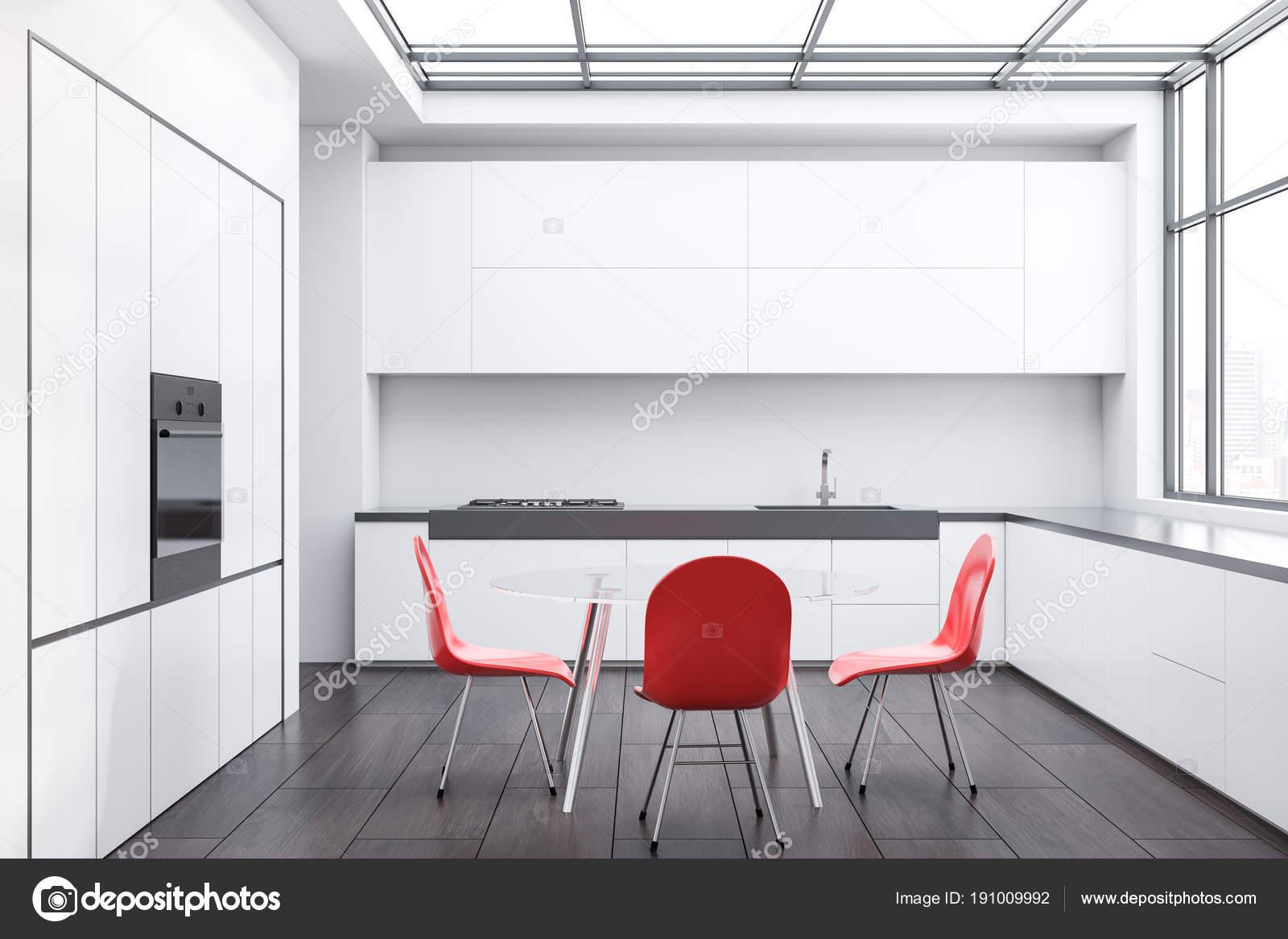 Sedie Rosse Da Cucina : Set sedie rosse da interno modello chelsea in legno di quercia e