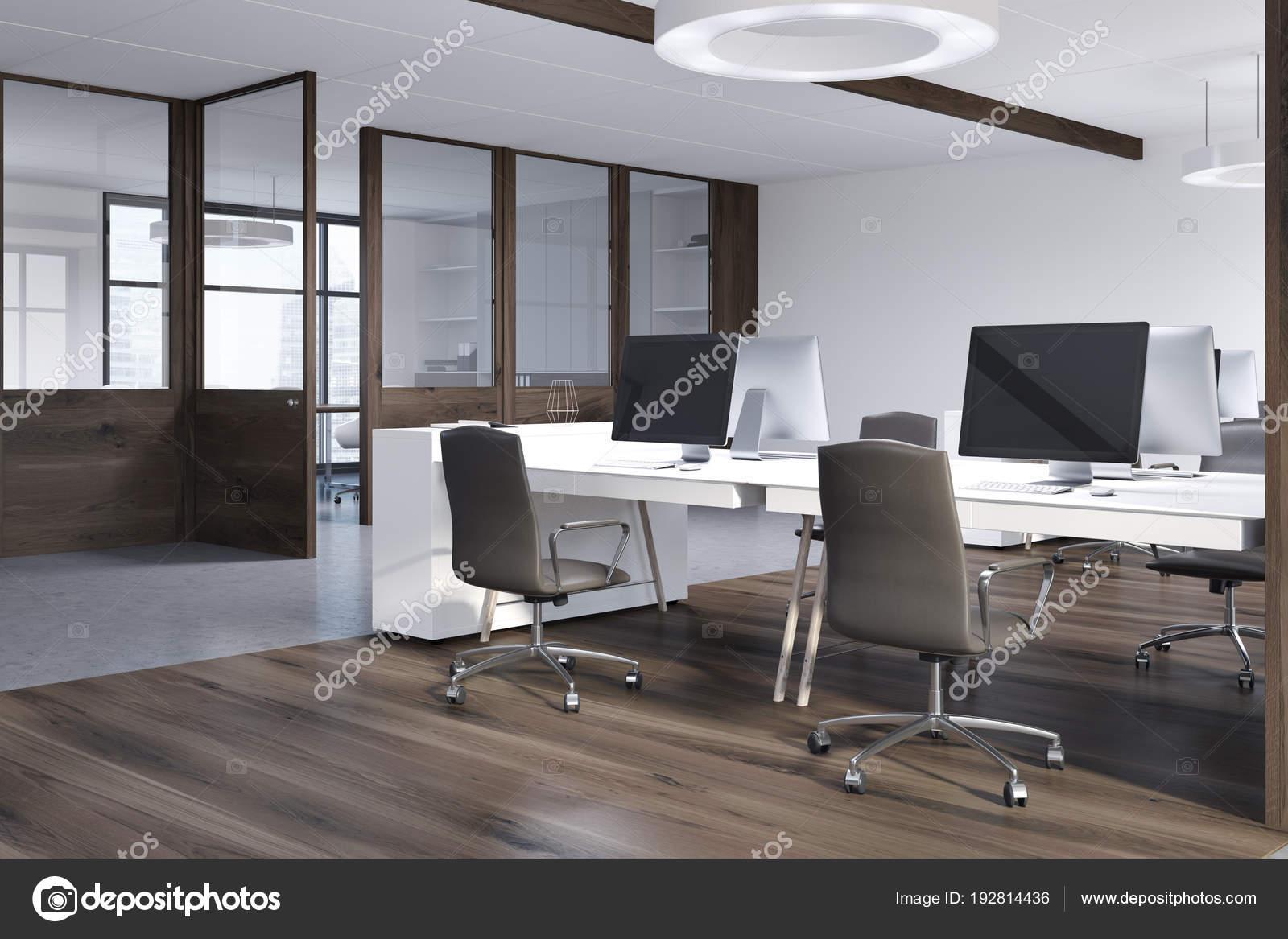 Ufficio Di Lusso : Vista laterale interna ufficio di lusso u foto stock