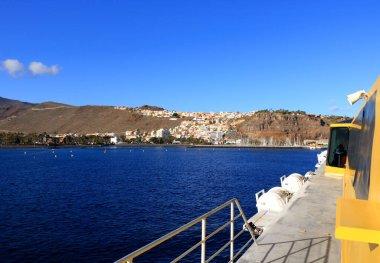 Port and town San Sebastian - La Gomera Island - Canary in Spain