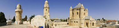 Hagia Maria Sion Abbey, Church Of Dormition on Mount Zion, Jerus