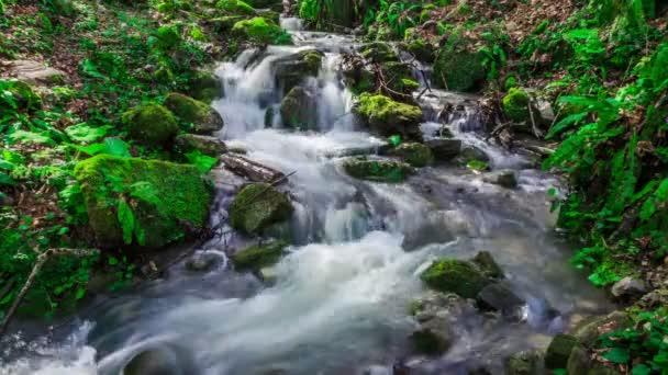 Fantasztikus gyors vízfolyást a hegyi-patak.