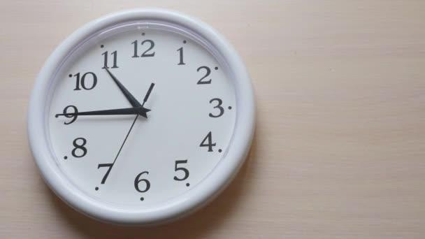 Doba zavření nástěnných hodin