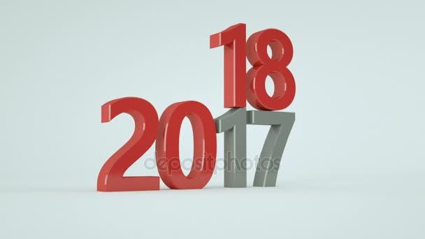 Pozadí šťastný nový rok 2018