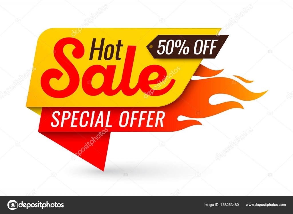 Venta caliente precio oferta oferta vector etiquetas plantillas pegatinas  desig — Vector de stock a537c883101