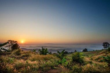 View point at Doi Sa-Ngo, Chiang Sean, Chiang Rai Province, Thai