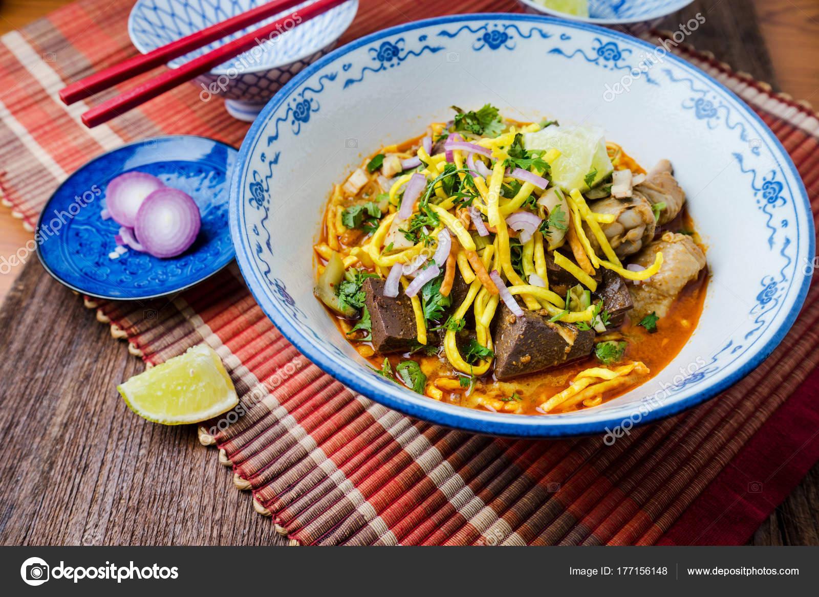 Cuisine Thailandaise Traditionnelle | Khao Soi Cuisine Thailandaise Traditionnelle Khao Soi Thai