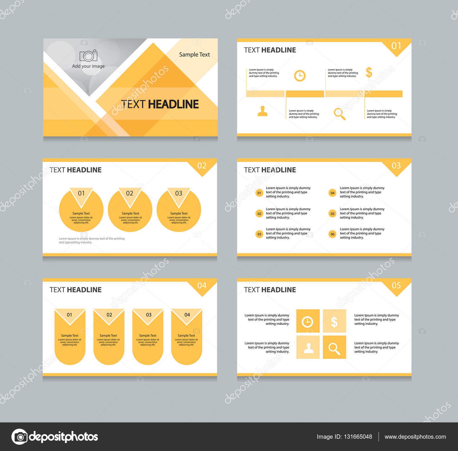 Seite Präsentation Layout Design-Vorlage mit Info Grafikelement ...