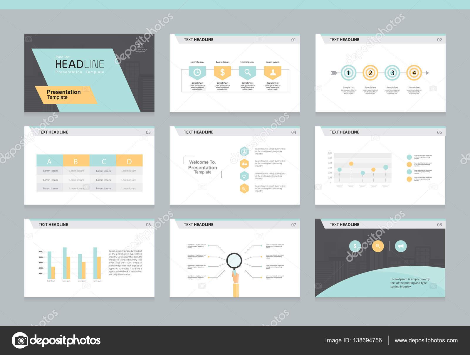 plantilla de diseño de negocios powerpoint presentación fondo ...