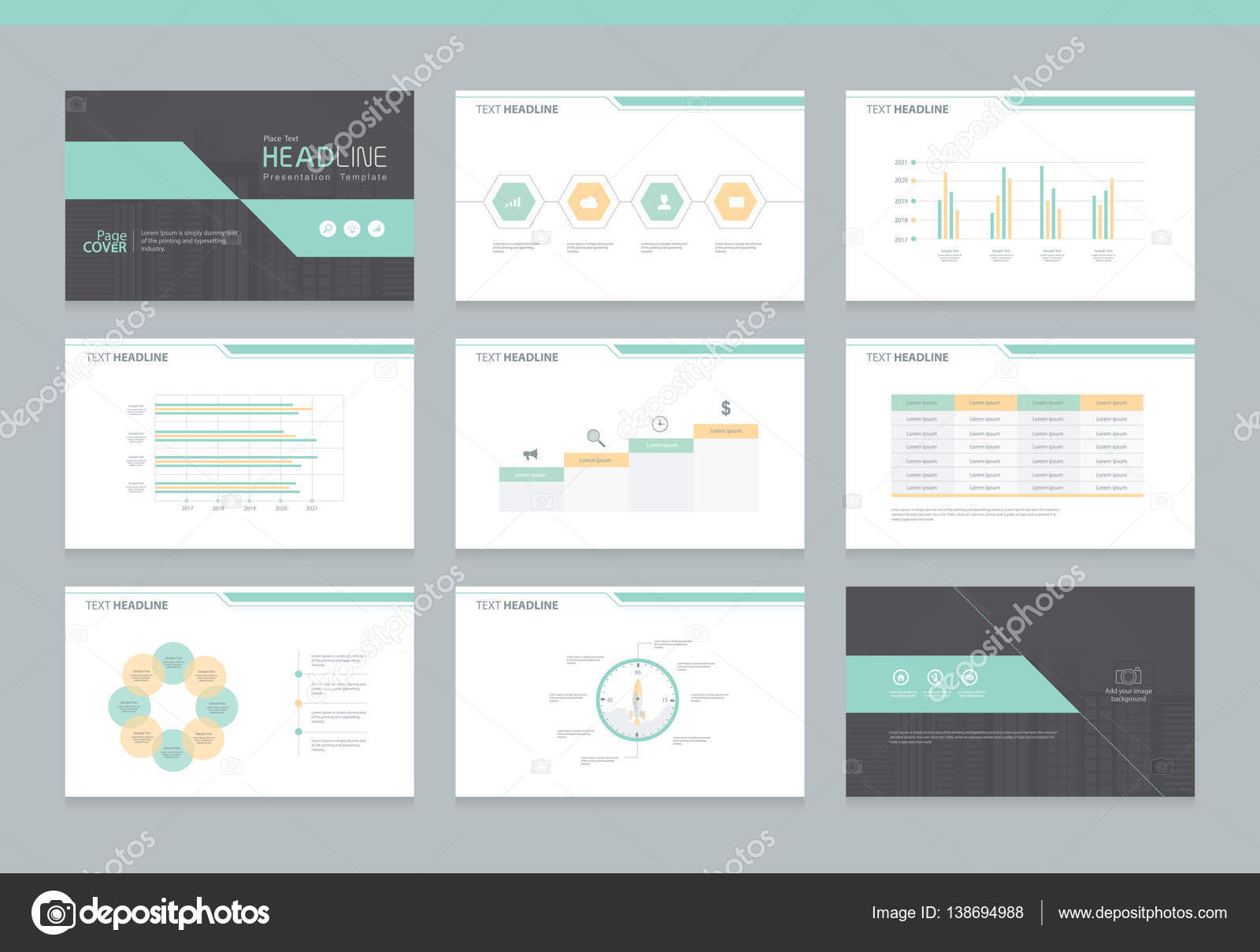 Business Powerpoint Presentation Background Design Template