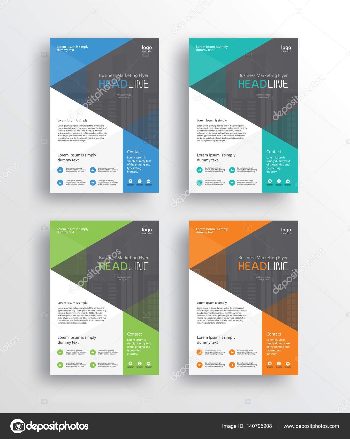 Business-marketing, Flyer, Broschüre, Plakat und Report-Design ...