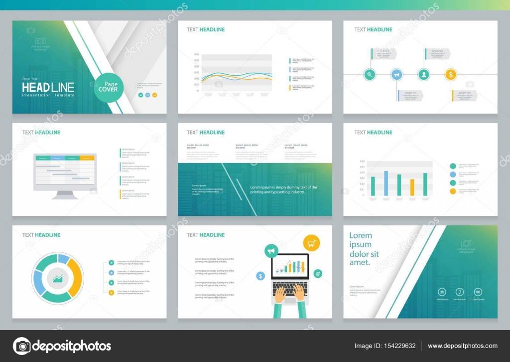 business presentazione progettazione template e layout di