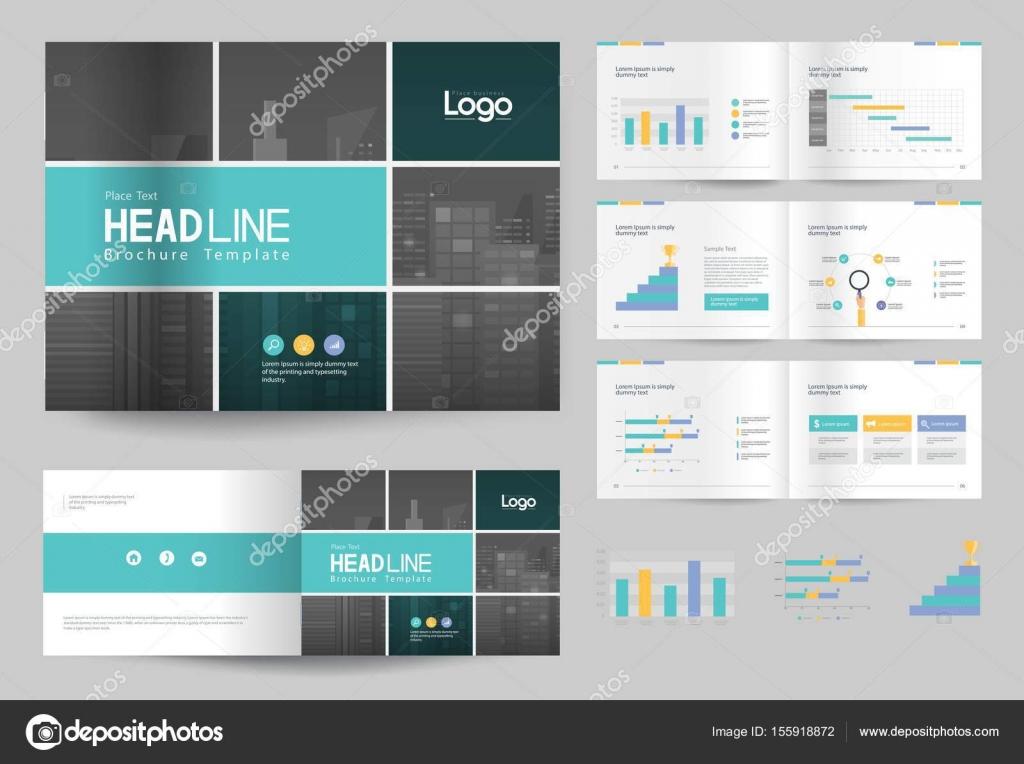 profile company design template