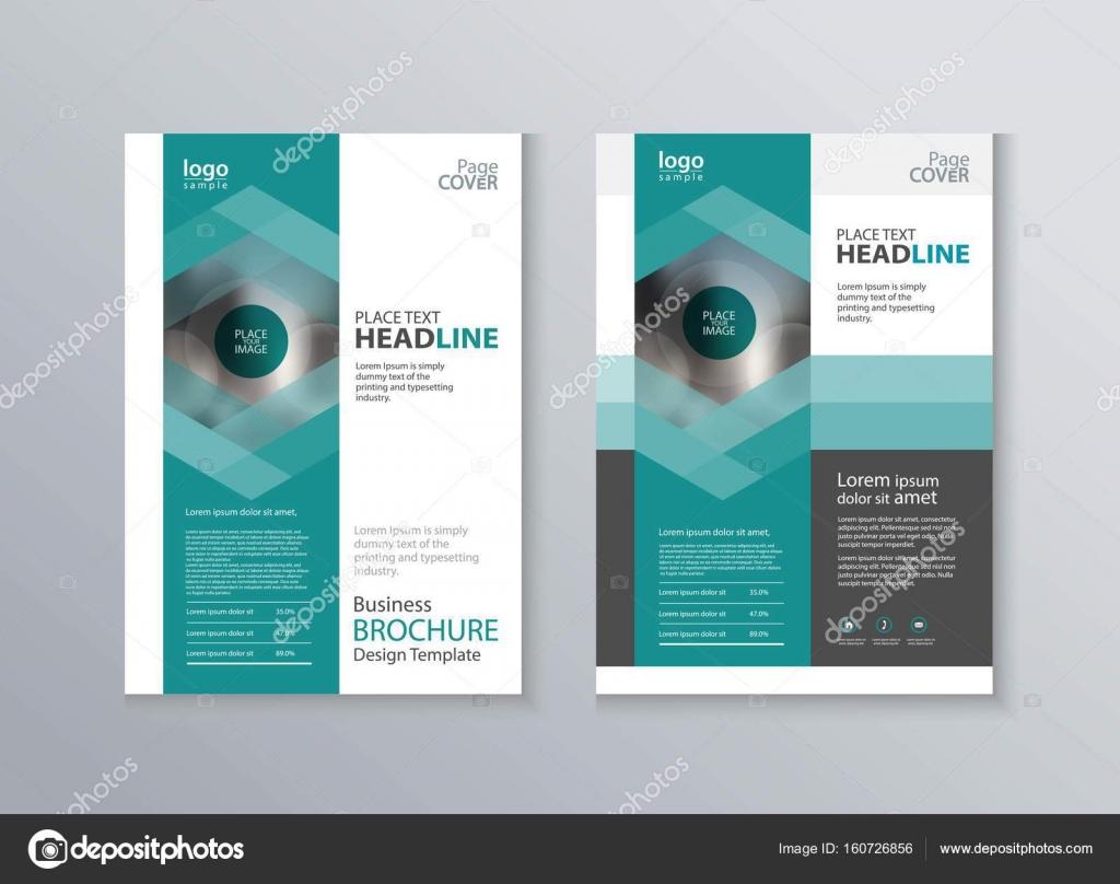 abstrakte Cover und Layout-Design-Vorlage für die Broschüre ...