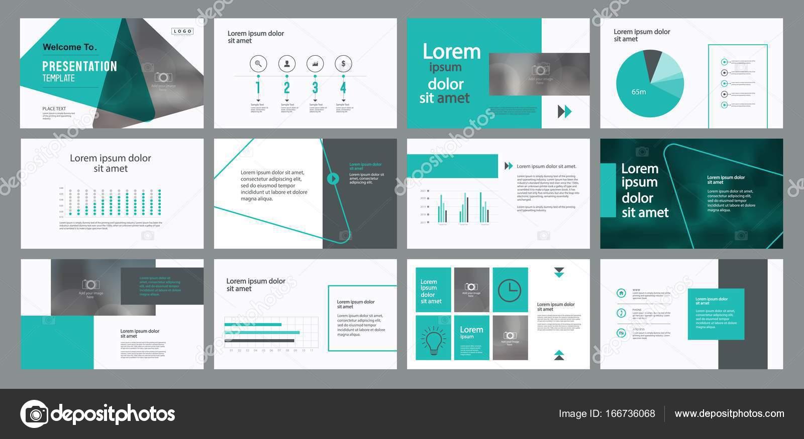 Business Präsentation Vorlage entwerfen — Stockvektor © TCdesign ...