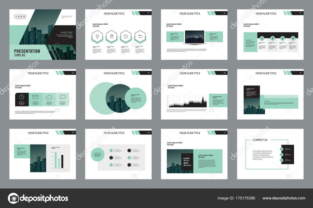 business presentation page layout template design info graphic