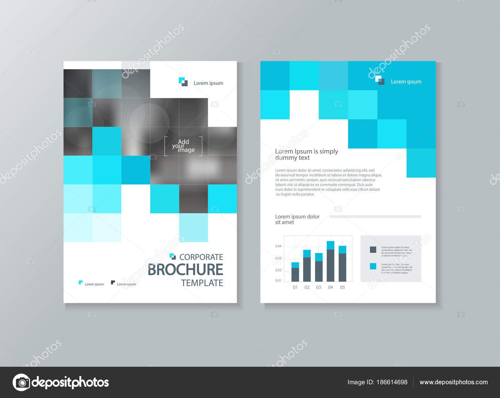 Business Brochure Flyer Plantilla Diseño Informe Con Fondo Diseño ...
