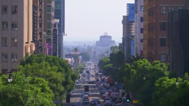 Verkehr in Hollywood, Los Angeles, Kalifornien