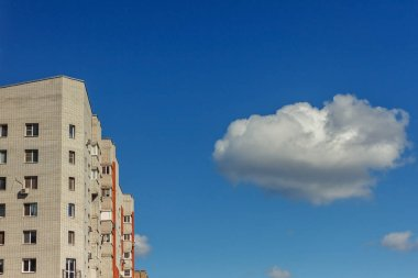 View from below of a high-rise buildings