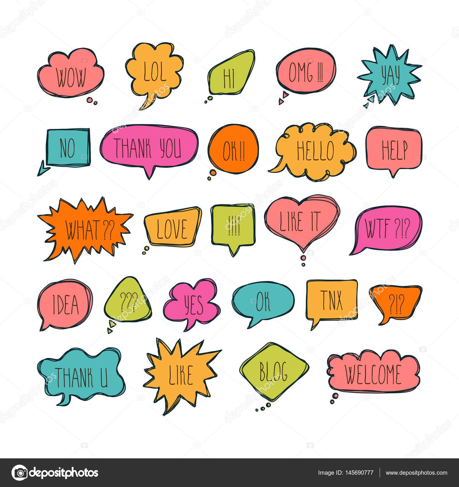 Imágenes Burbujas De Mensajes Gran Juego De Burbujas De