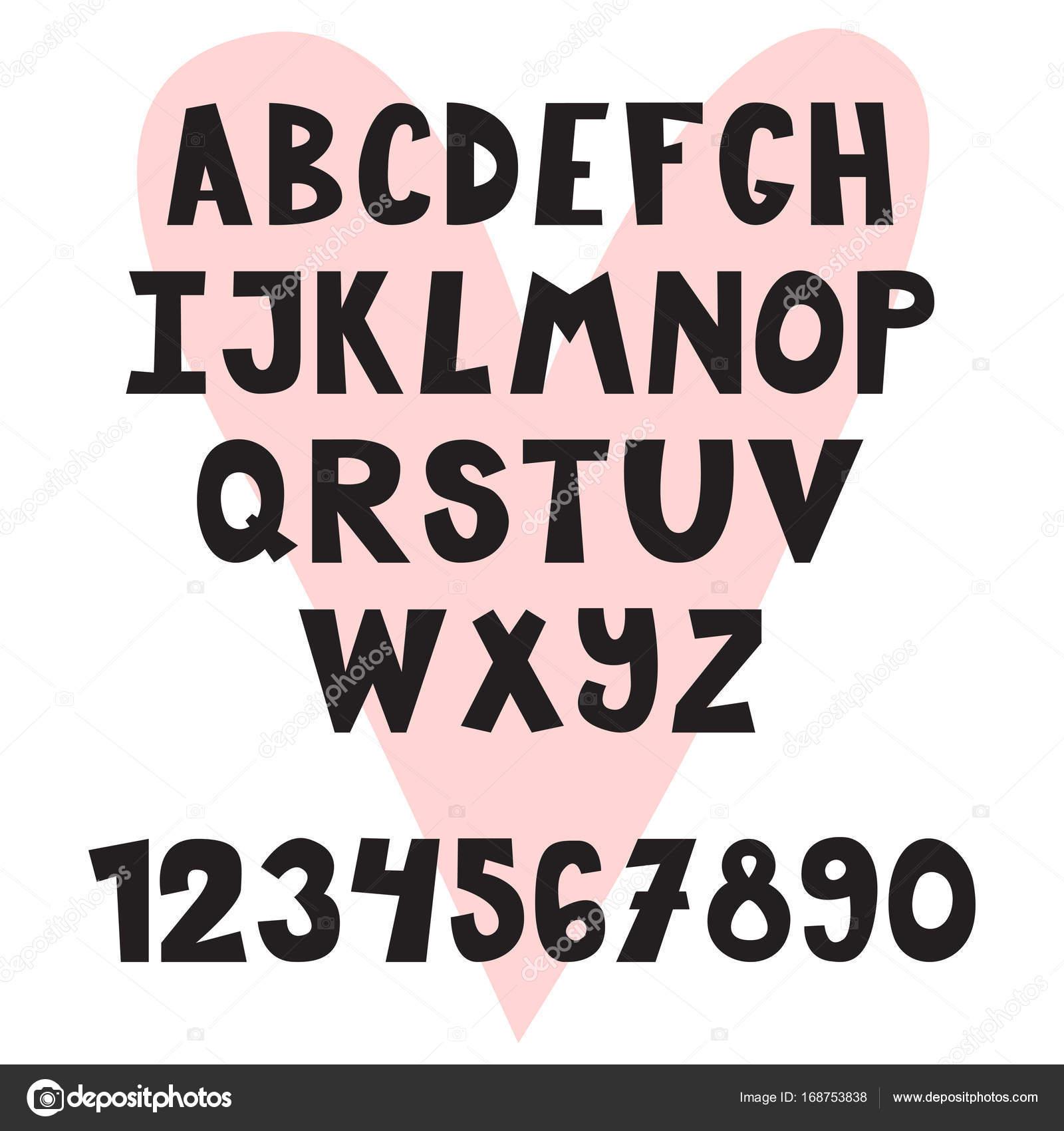手には、英語のアルファベットが描かれました。かわいい文字と数字
