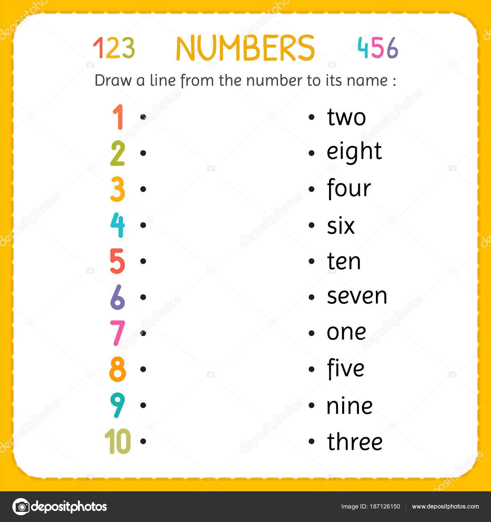 Zeichnen Sie eine Linie von der Anzahl, seinem Namen alle Ehre ...