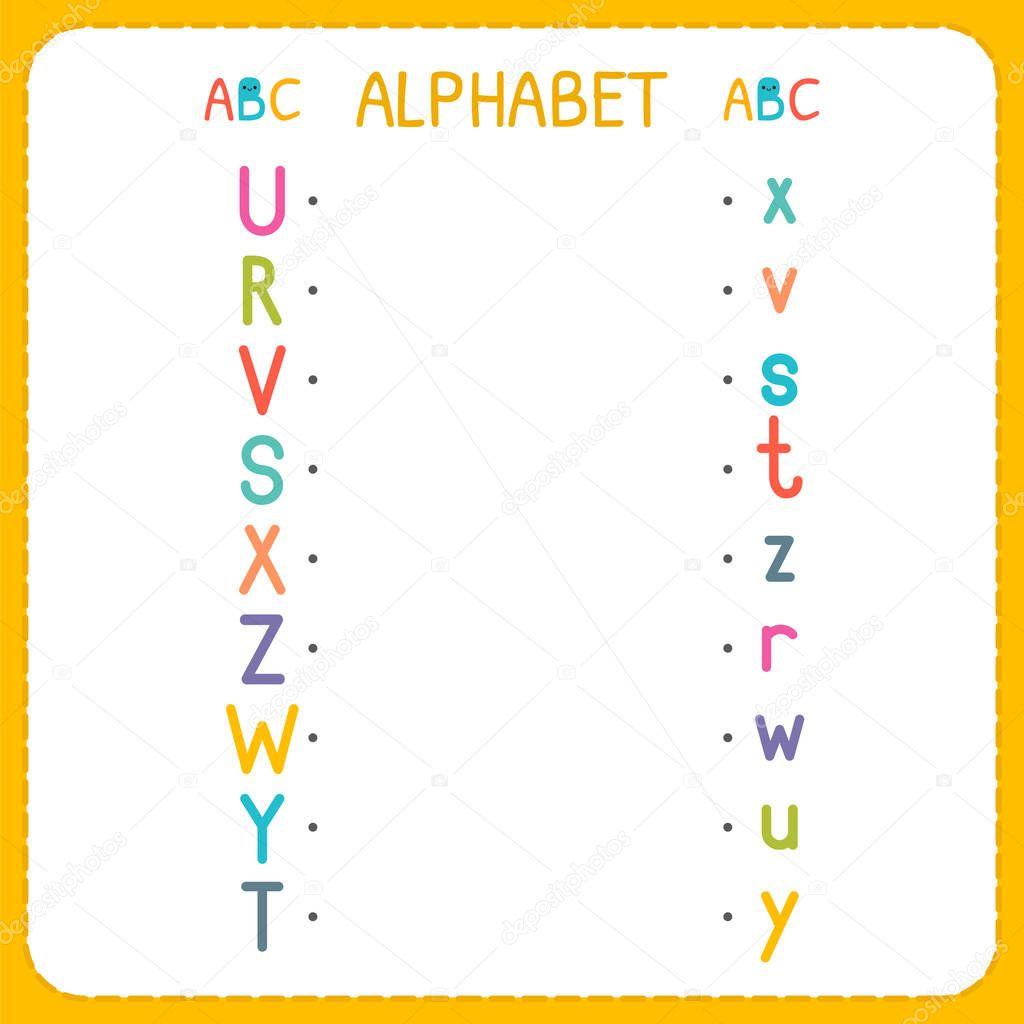 Joignez-vous à chaque lettre majuscule à la lettre ...