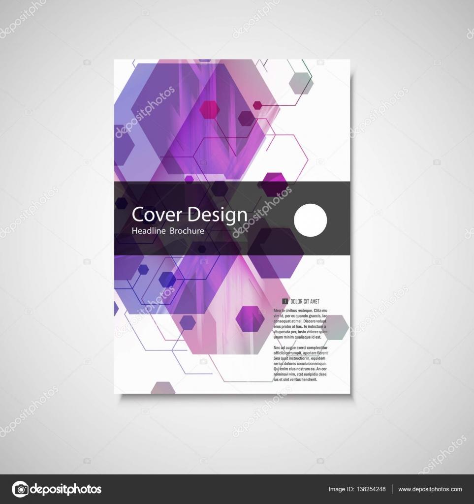 Vektor-Geschäftsbericht Faltblatt Broschüre Flyer Template-Design ...