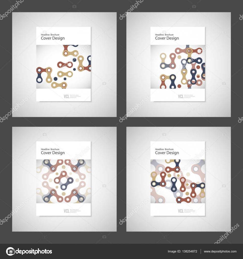 Abstrakte Cover-Design, Business Broschüre Vorlage Layout ...