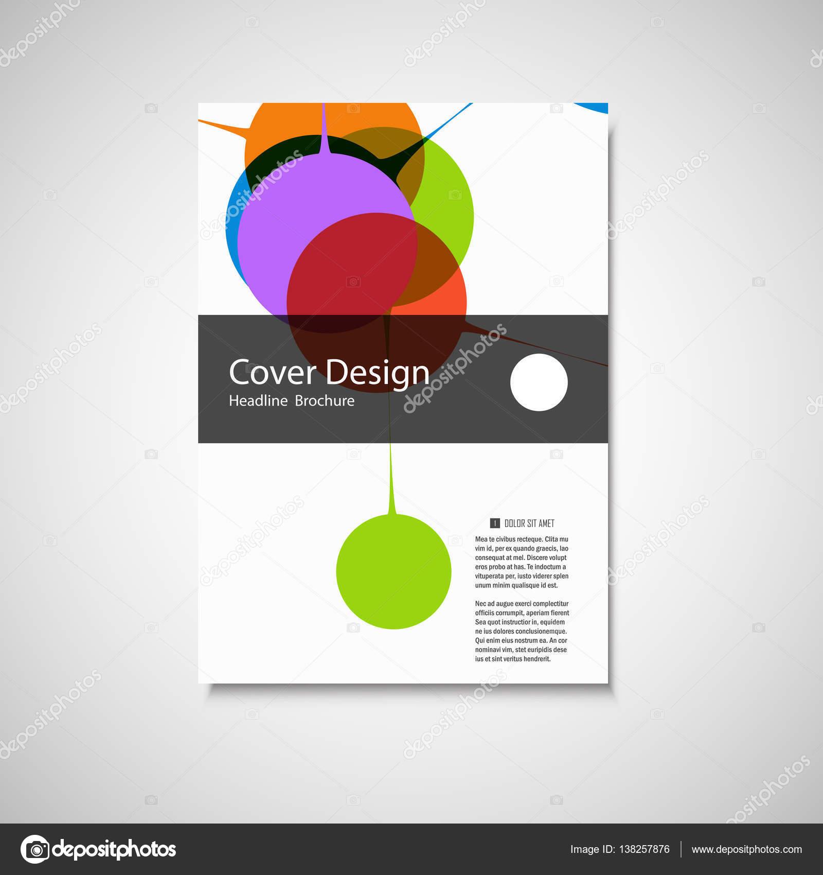 Nett Einfache Broschürenvorlage Galerie - Beispiel Business ...