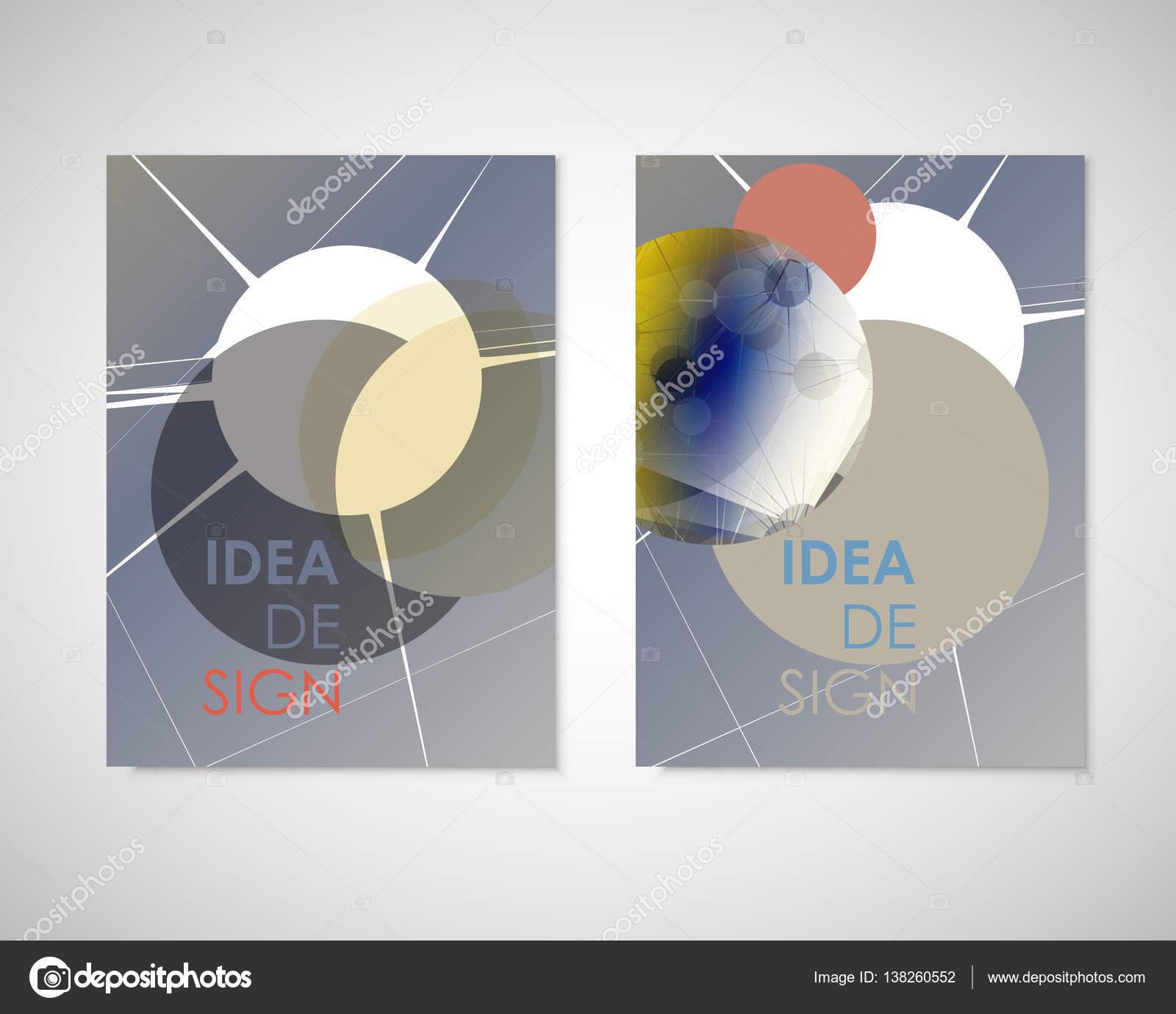 Fondo geométrico abstracto moderno. Blanco tapa diseño plantilla ...