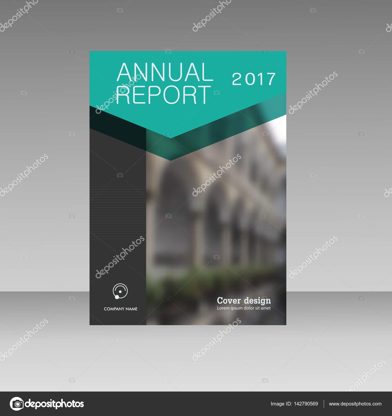 Jährlichen Bericht Business Magazin Vektor Vorlage. Buchpräsentation ...