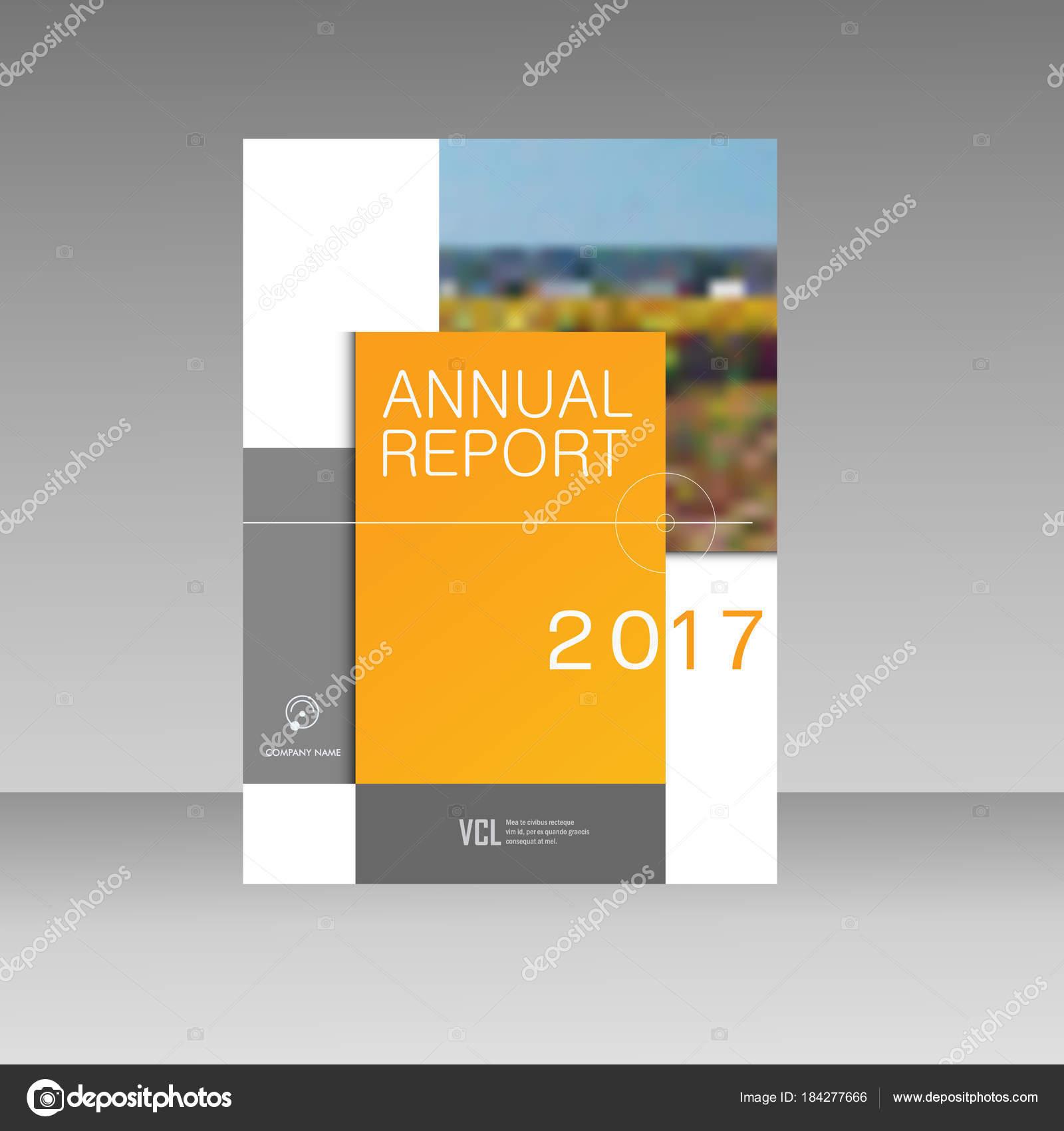 Jährliche Broschüre Broschüre Flyer Vorlage A4 Größe Berichtsentwurf ...