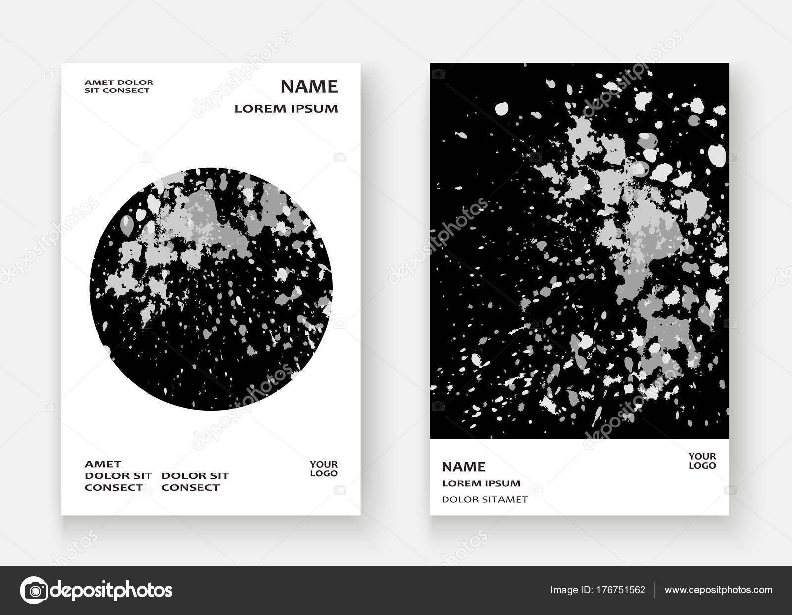 Monochrome Explosion Farbe Splatter künstlerischen Rahmen ...