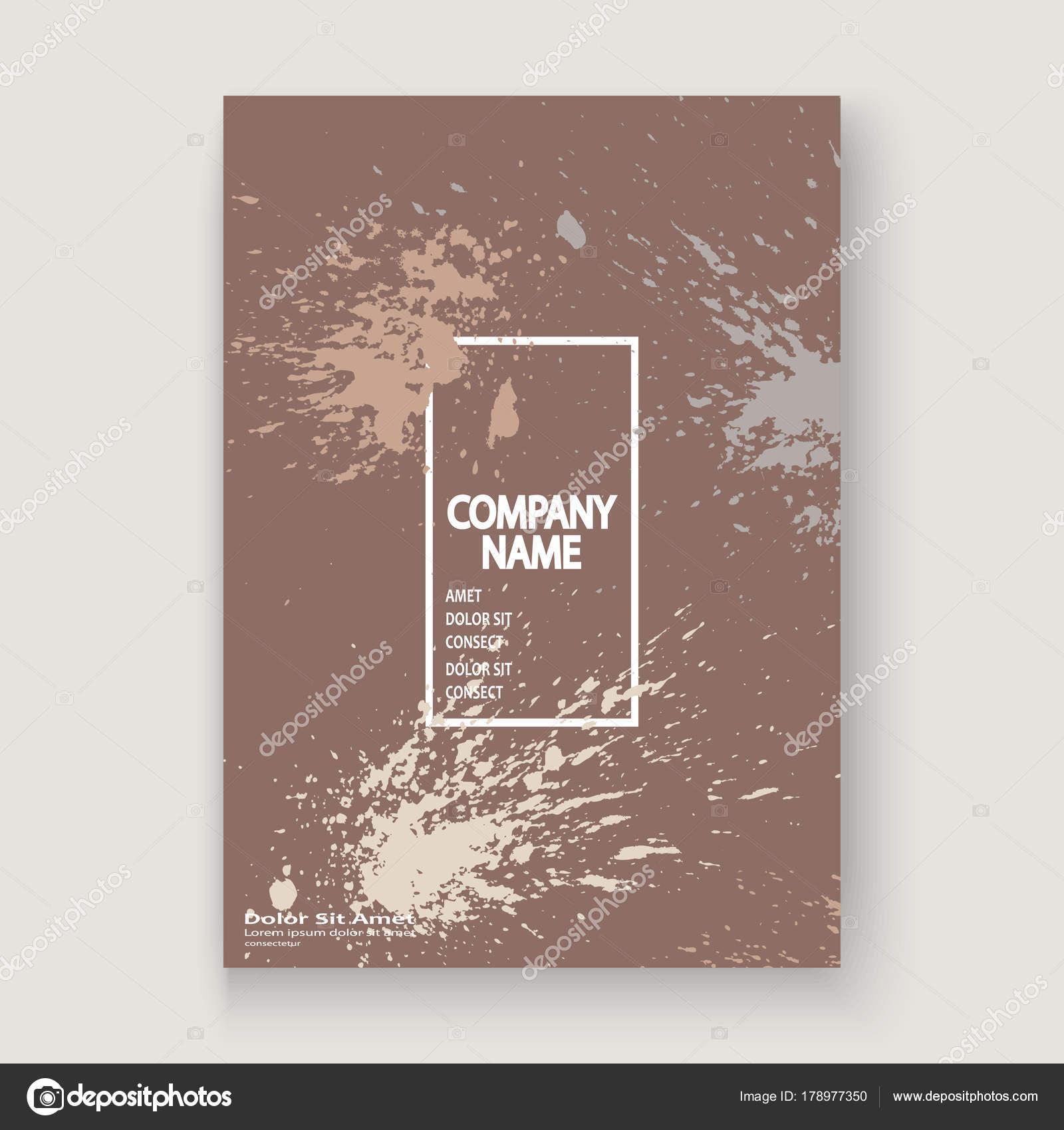 Pastell Explosion Farbe Splatter künstlerische Cover Rahmen-Design ...
