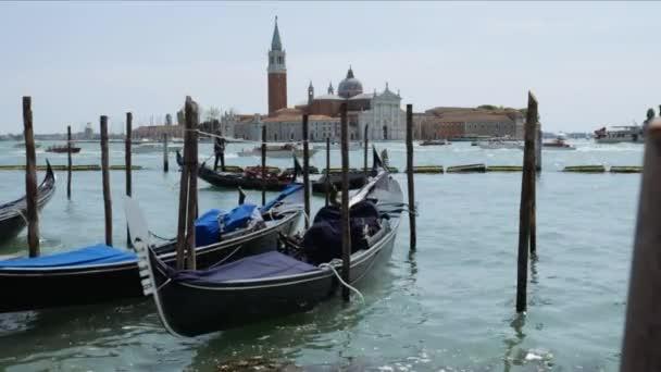 Gondolák, a Piazza San Marco