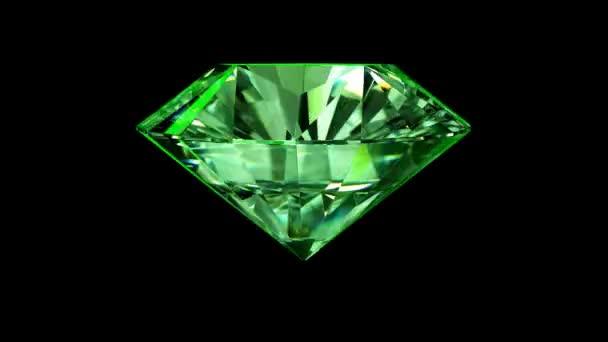 zelená Emerald sparkle paprsky