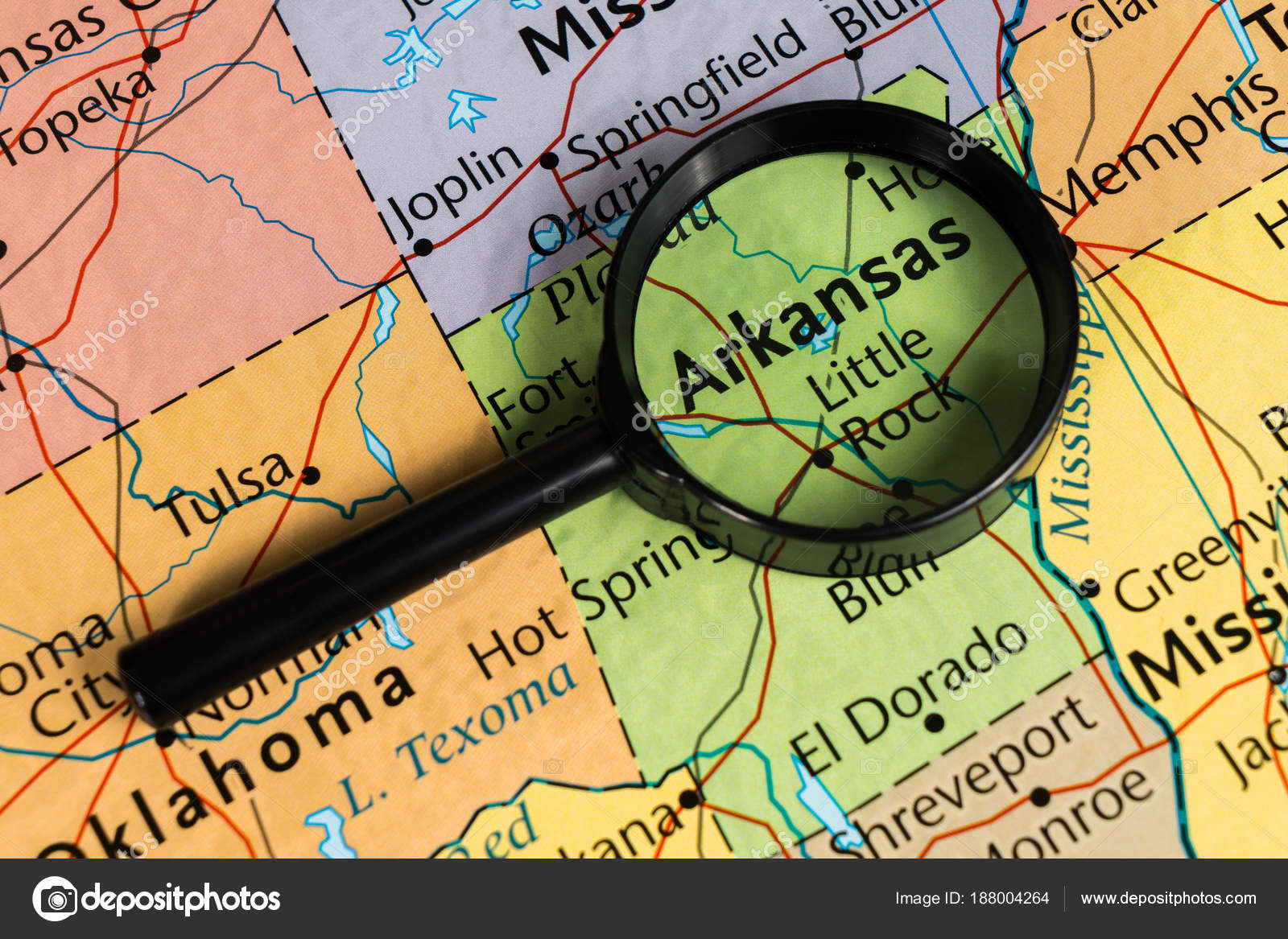 Arkansas World Map.Arkansas Map World Map Stock Photo C Aallm 188004264