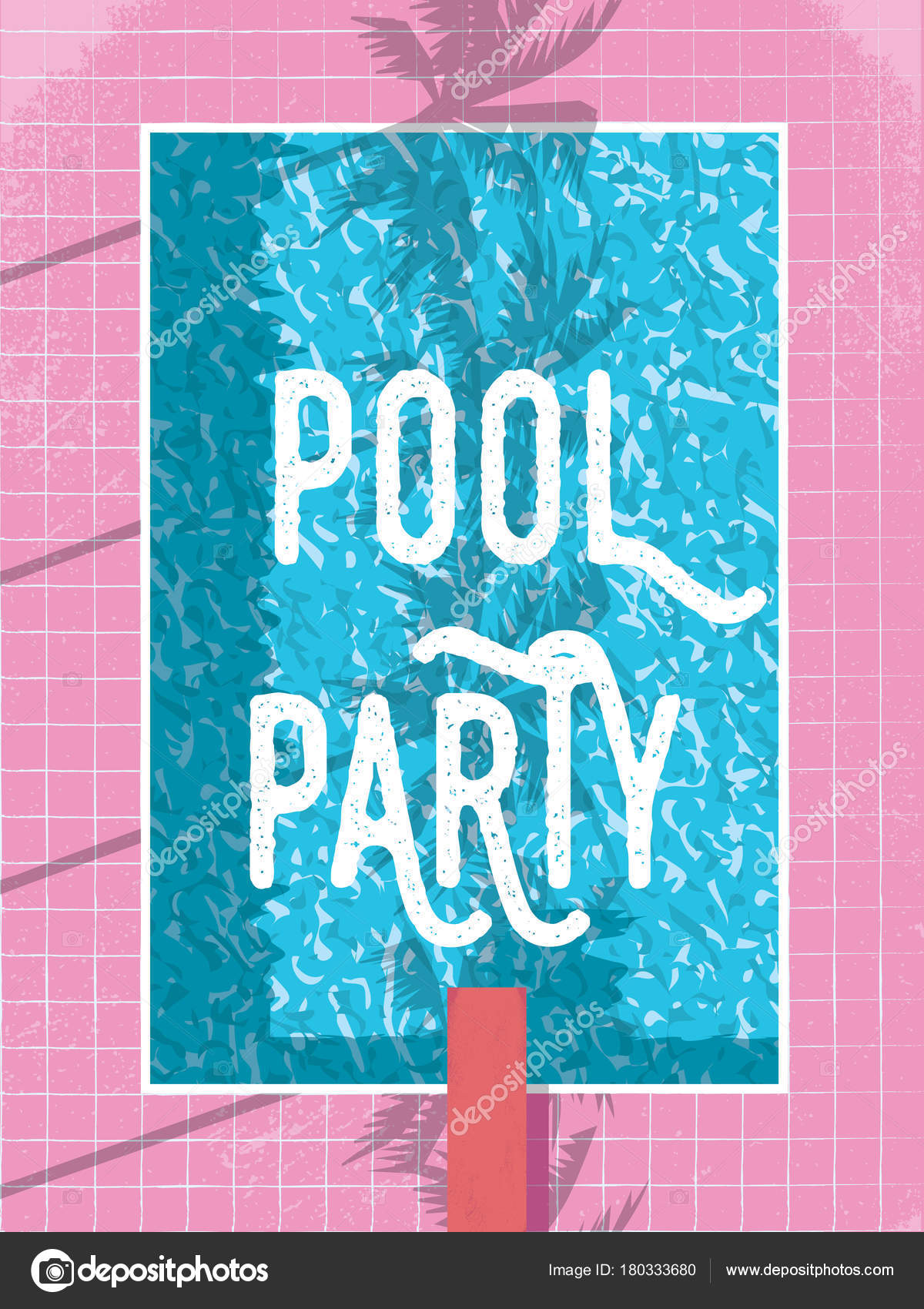 Images: vintage swimming pool posters | Summer pool party ...