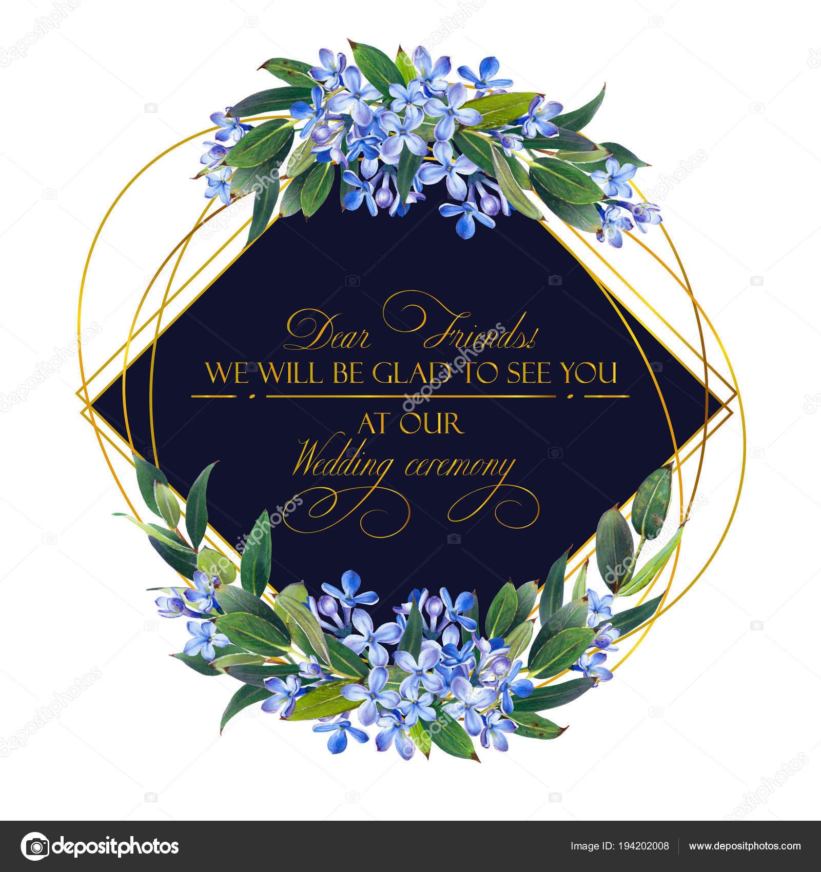 template congratulations invitations wedding blue colors