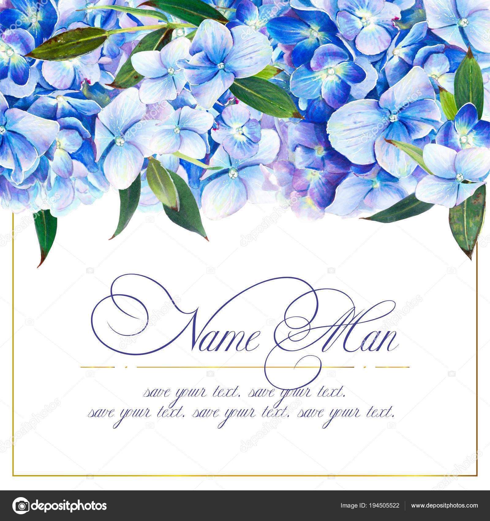 Szablon Zaproszenia ślub Kolorach Niebieskim Lub Gratulacje